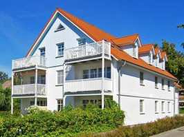 Ferienwohnung  im Haus zum Strand *** Sterne in der Strandstr. 21 Ostseebad Wustrow easyquartier.de