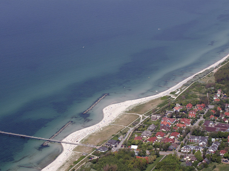 Ferienwohnung im Haus zum Strand easyquartier.de in Ostseebad Wustrow auf dem Fischland